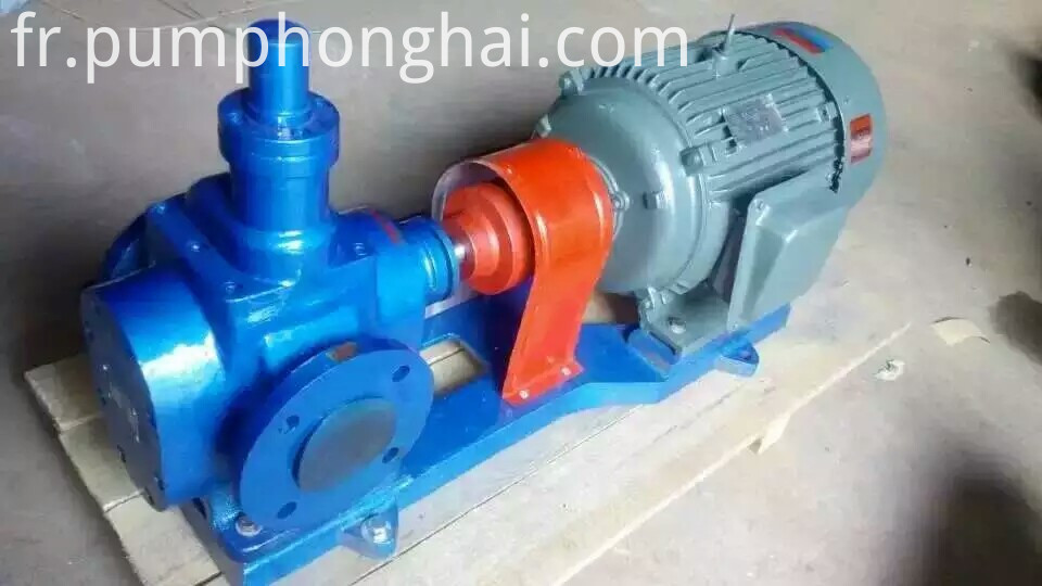 YCB series electric crude oil transfer gear pump