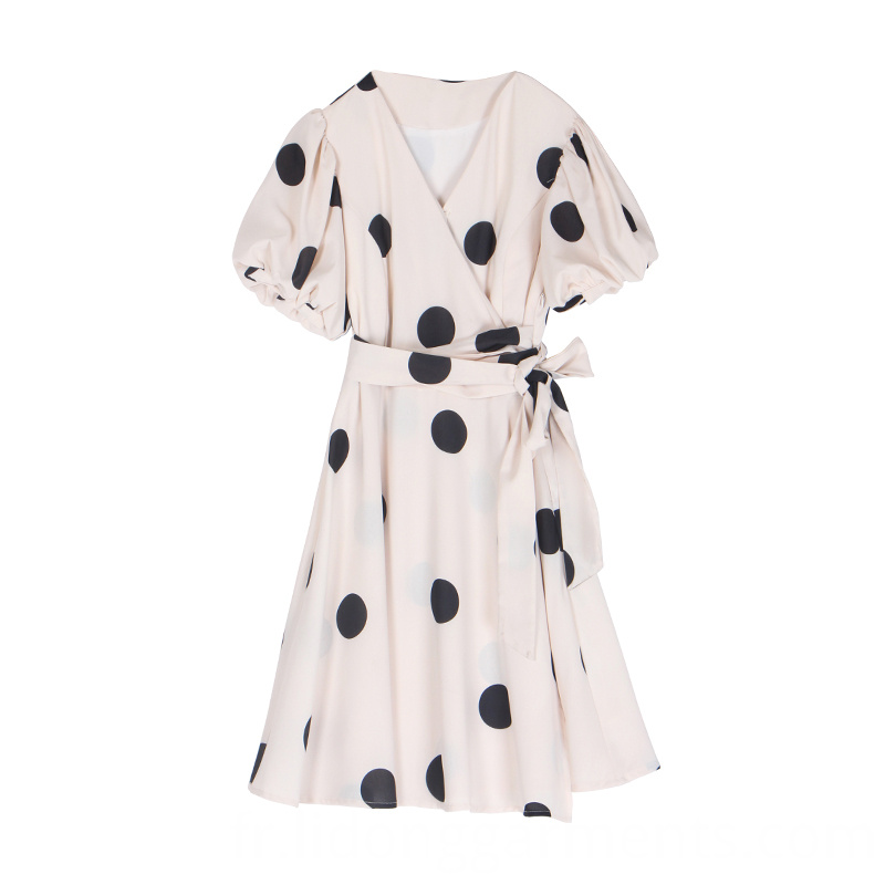 Loose Casual Dot Dresses