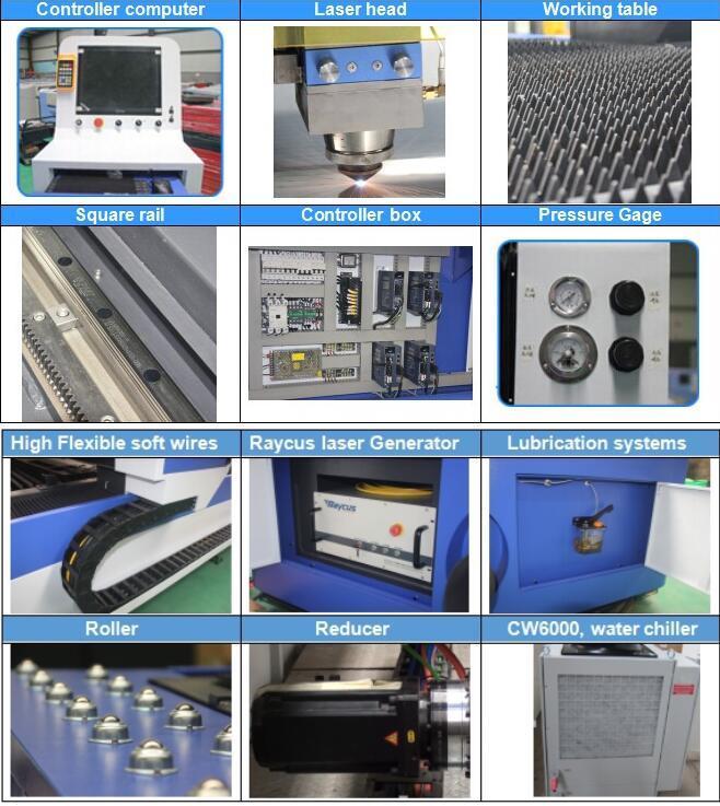 Faser-Laser-Schneider-hohe Qualität 750W