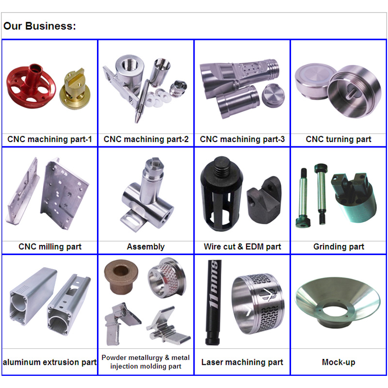 Spare Part CNC Machining for Universal Industrial Accessories