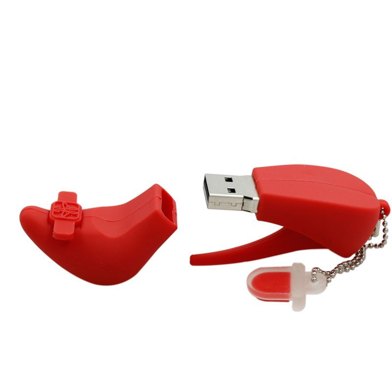 Valentine's Gift Sexy Red High Heel Shoes USB Disk Creative USB Drives