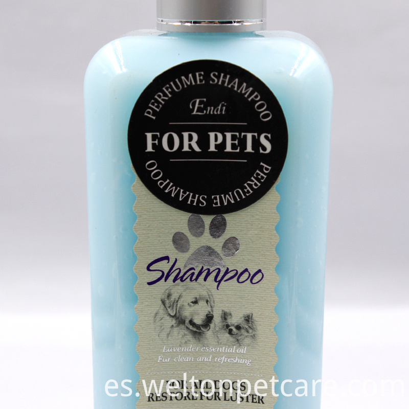customized dog shampoo pet