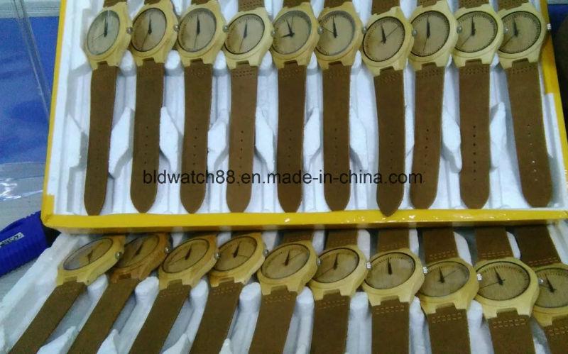 High Quality Quartz Wooden Watch for Women Red Sandalwood
