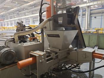 Y83L-250 Máquina automática de barbear de alumínio para aparas de metal, prensa de briquetagem