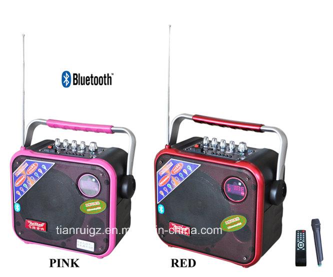 8inch Mini Bluetooth Speaker with NFC/FM Radio/SD/TF Card/USB Reader/MP3 F83
