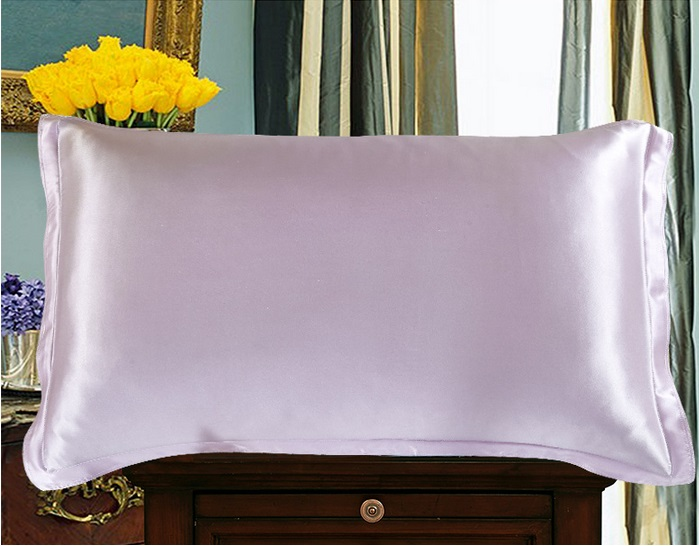 Luxury Pillowcase 100% Mulberry Silk Fabric/Silk Satin Pillowcase