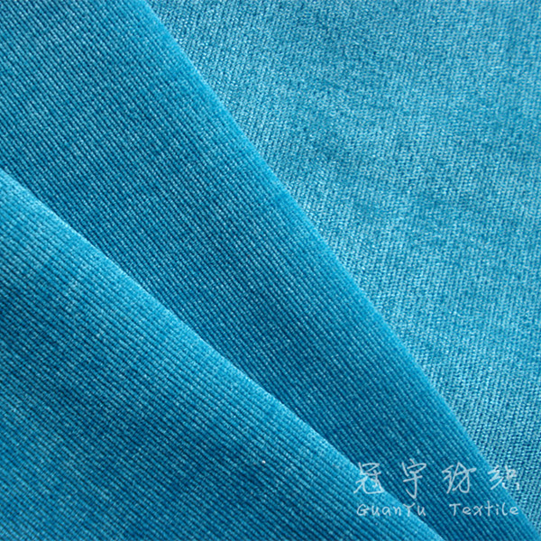 28W Cut Pile Corduroy Sofa and Upholsteryfabric