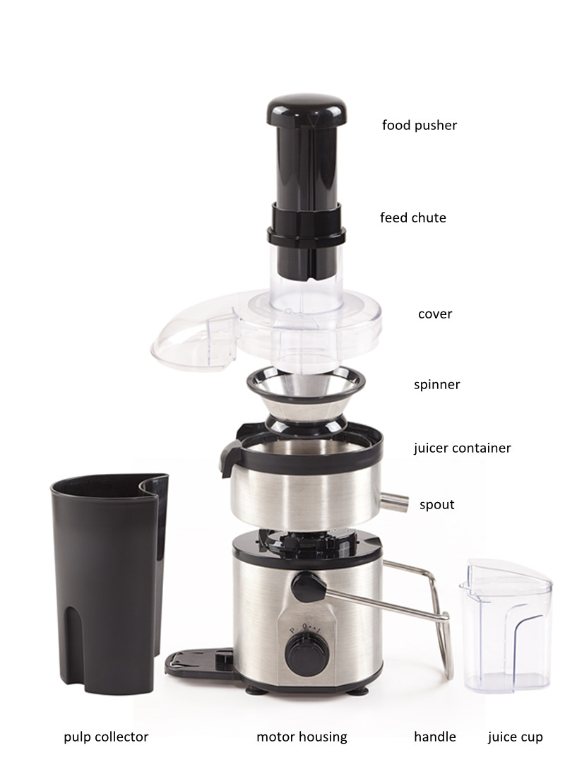 Geuwa Apple Juicer with Stainless Steel Body