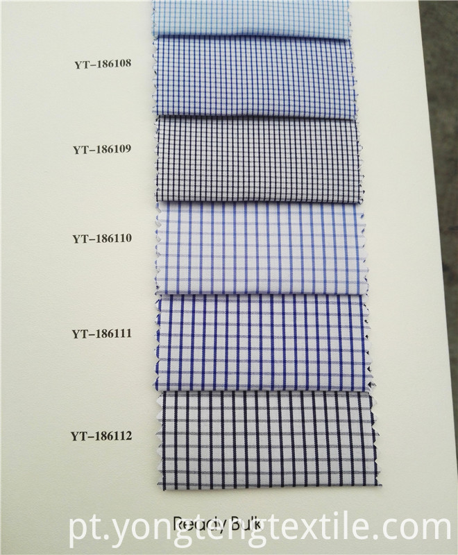 Plaid Shirt Fabric