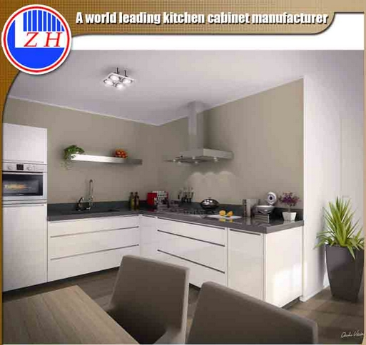 Glossy Lacqure Painting Kitchen Cabinets with Standard Sizes (Factory price directly)