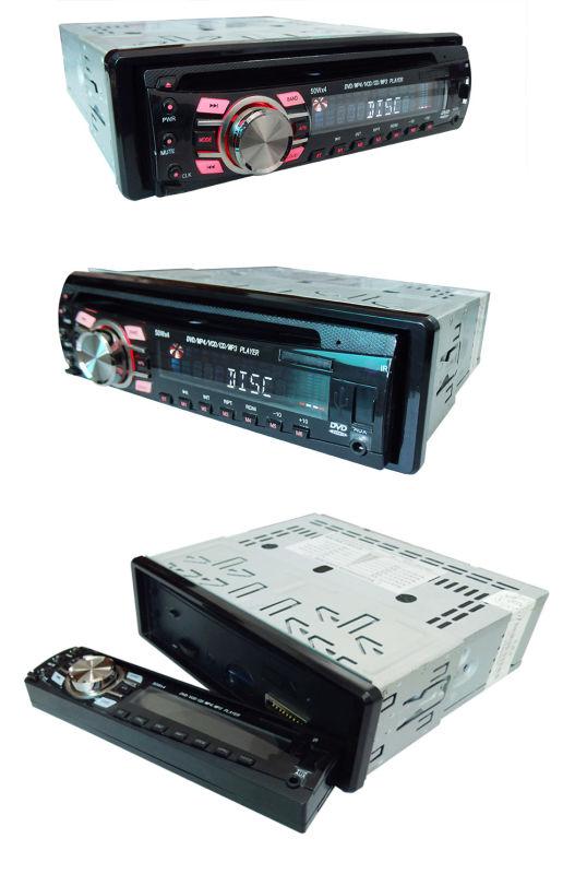 One DIN Detachable Panel Car DVD Player