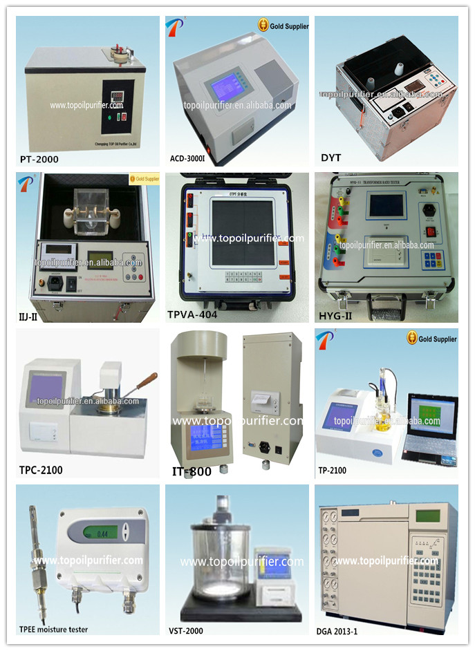 Insulation Oil Breakdown Voltage Oil Testing Unit for 0~60kv~80kv~100kv