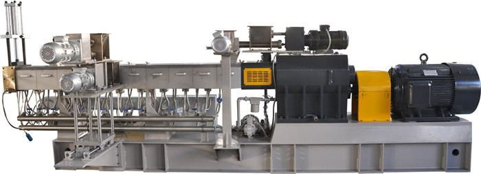 China Twin Screw Plastic Extruder Manufacturer for Pet Recycling