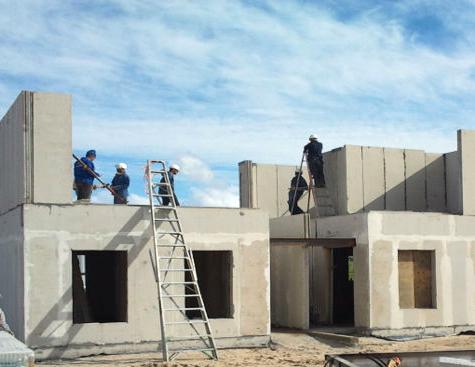 Light Weight EPS Cement Sandwich Panel Customized Prefabricated House (XGZ-0756)