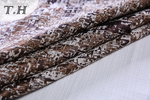Chenille Fabric Design for Chair and Sofa in Office