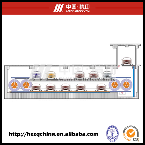 Popular Product Car Automated Parking Garage with Psx Parking System