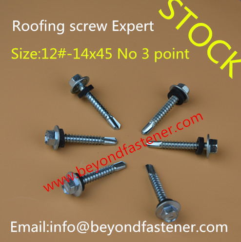 Roofing Screw Self Tapping Screw Self Drilling Screw