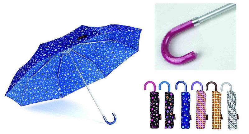 Colorful Design Straight Automatic Umbrella (YS-SA23083925R)