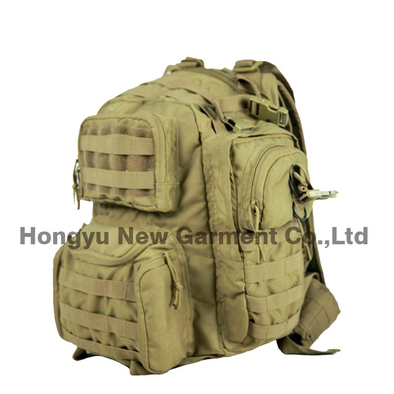 Military Tactical Molle Backpack with Shoulder Straps (HY-B102)