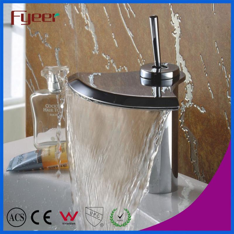 Fyeer 3001 Series Waterfall Basin Faucet Bathtub Shower Mixer