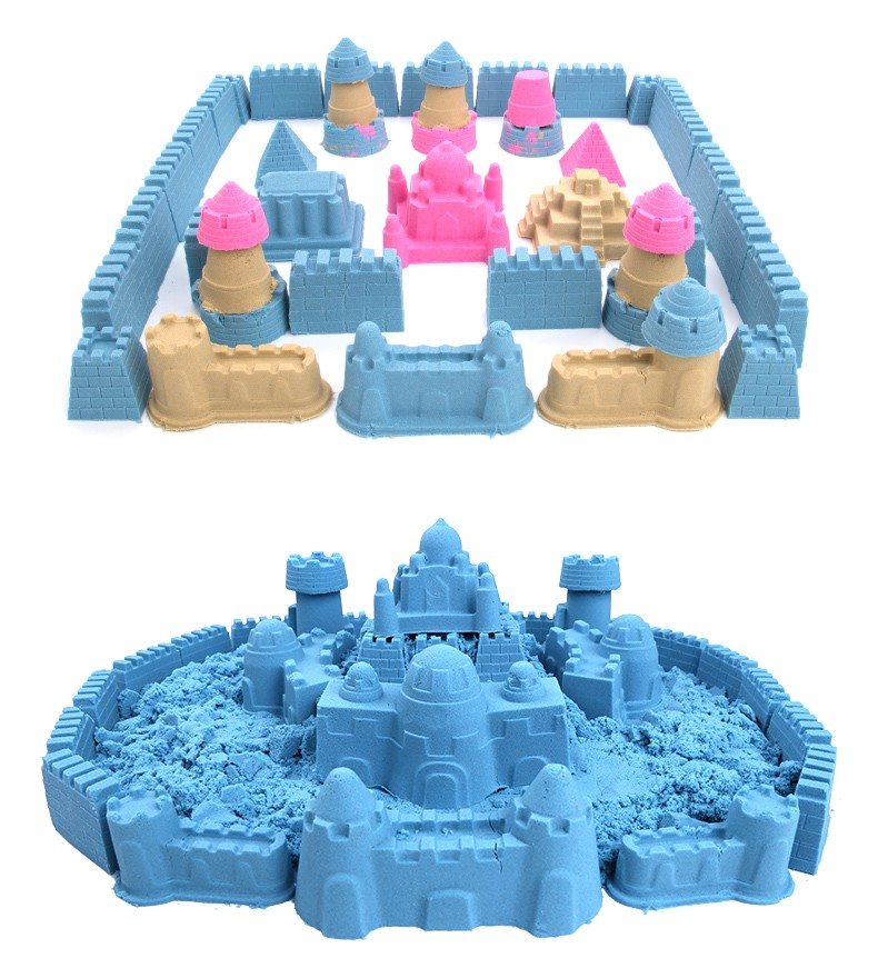 2kg Bulk Magic Sand for Children Creative Playing Dynamic Sand Moving Sand