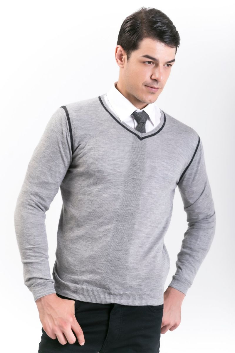 Men's Fashion Cashmere Blend Sweater 18brssm008