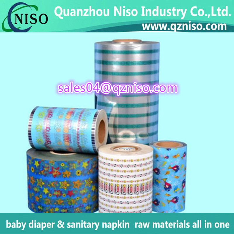 Raw Materials PP Baby Diaper Frontal Tape From The China Manufacturer