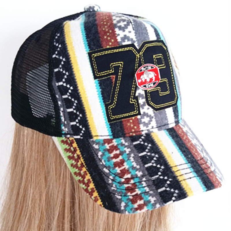 Fashion Joint 3D Embroidery Knitting and Sport Baseball Cap