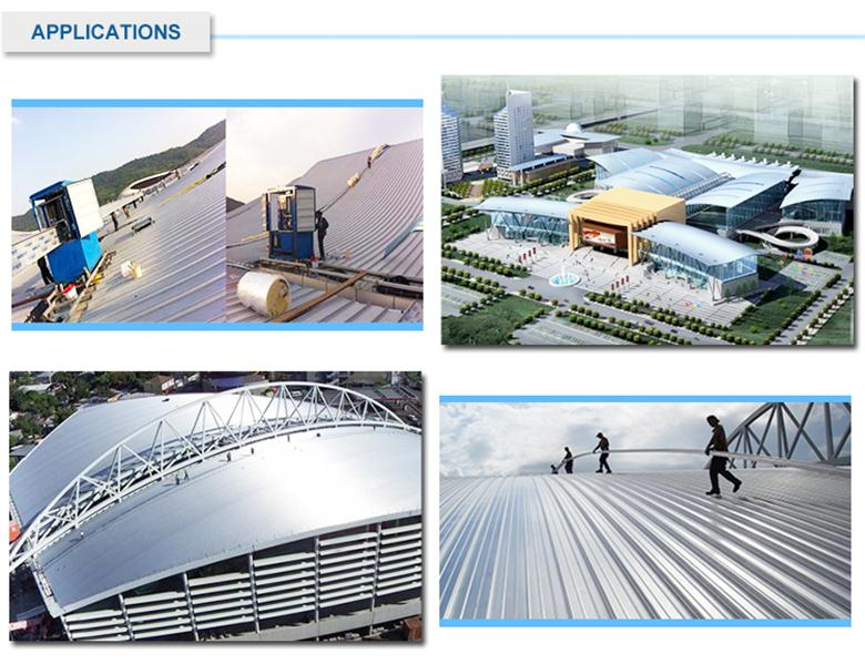 High Performance Insulated Metal Roof & Wall Panel Apply to Steel Structure