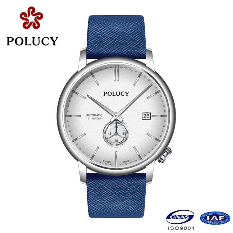 Genuine Leather Automatic Men's Fashion Watches