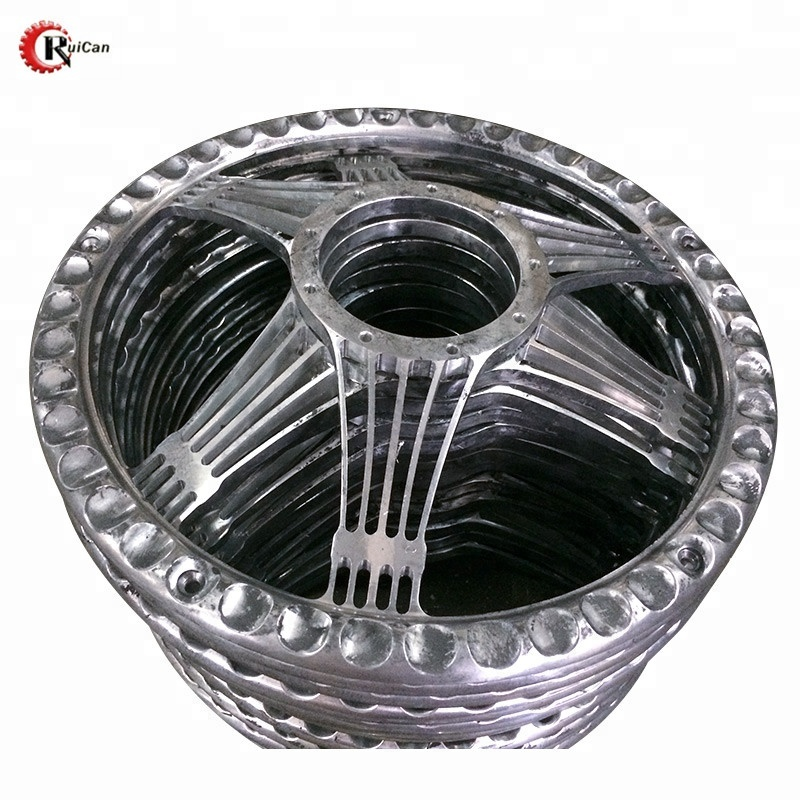 aluminium material die casting machining parts car wheel