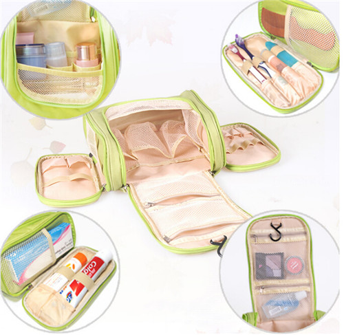 High Quality Waterproof Portable Travel Toiletry Storage Bags (54030)