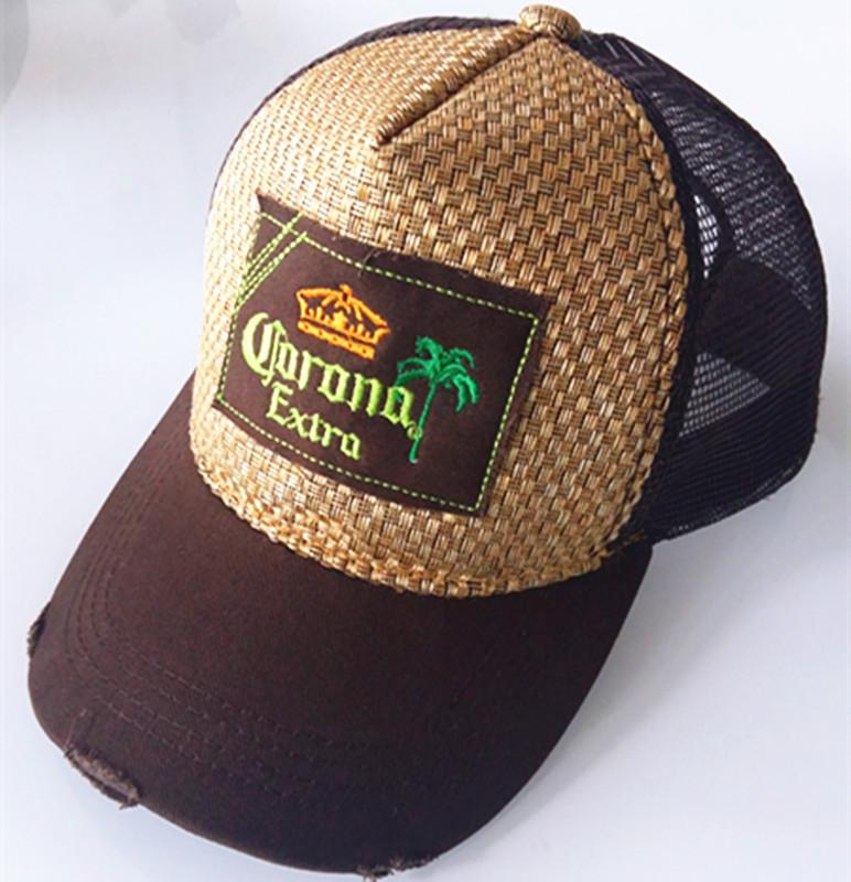 Patch Embroidered Cap Mesh Sport Cap Baseball Cap Trucker Hats