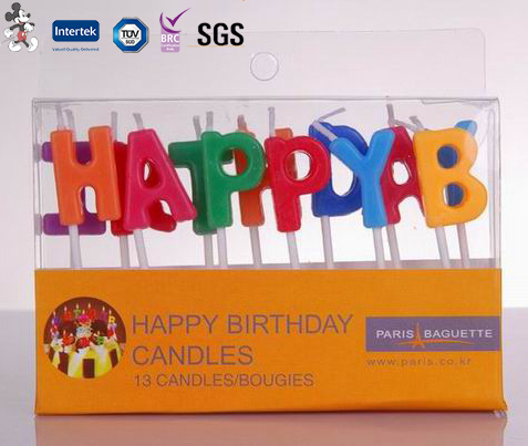 New Arrival Good Quality Best Selling Household Alphabet Birthday Candle