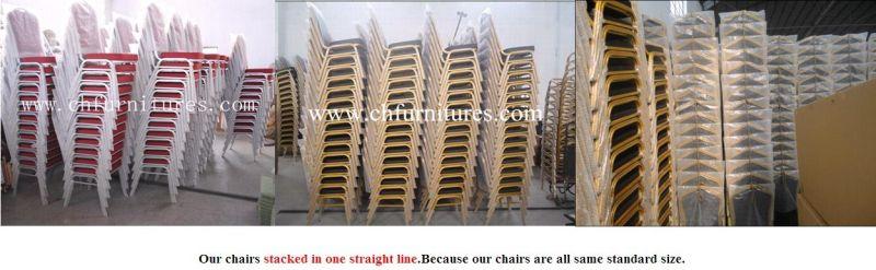 Stacking Hotel Banquet Restaurant Steel Metal Furniture Chair (YC-ZG10)