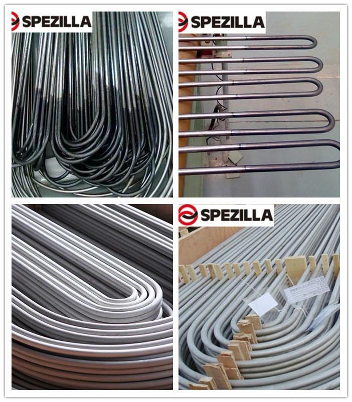 ASTM A249 Welded U Bend Tube Stainlessl Steel Tube