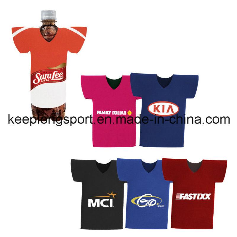 Fashionable and Costomized T-Shirt Neoprene Bottle Holder, Bottle Cooler