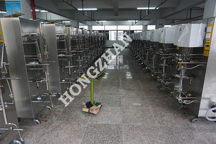 Automatic Milk Pouch Packing Machine with Filling Sealing Bag Making Flow Line