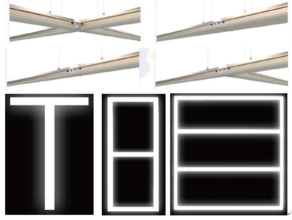 10W/15W/20W/30W/35W/45W/50W Bluetooth Dimmable DIY Connection LED Linear Light