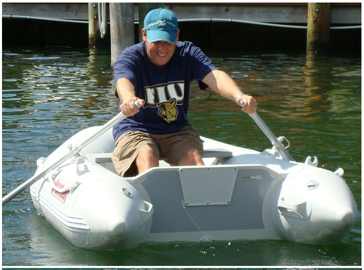 CE Small Rowing Dinghy Inflatable Boat