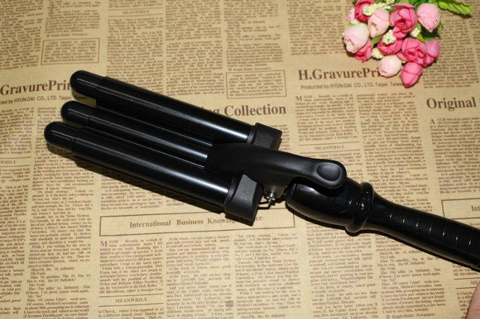 Automatic Roti Maker, New Hair Roller Meches Curler Hair 3 Curler