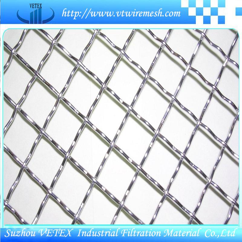 Crimped Square Wire Mesh Used in Mine