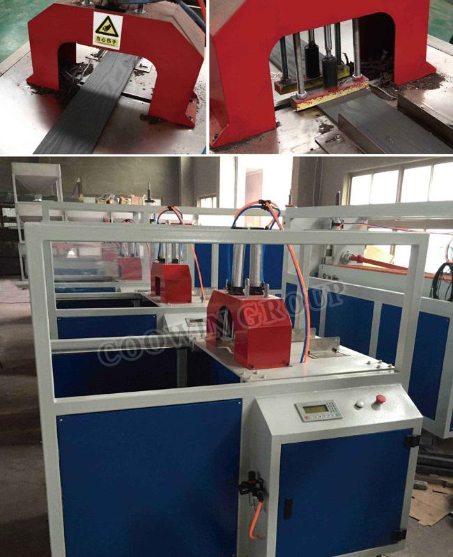 High Quality PP/PE/PVC Wood Plastic WPC Profile Production Line /PVC Extrusion Machine