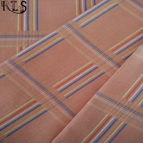 Cotton Polyester T/C Jacquard Yarn Dyed Fabric for Shirts/Dress Rls45-1tc
