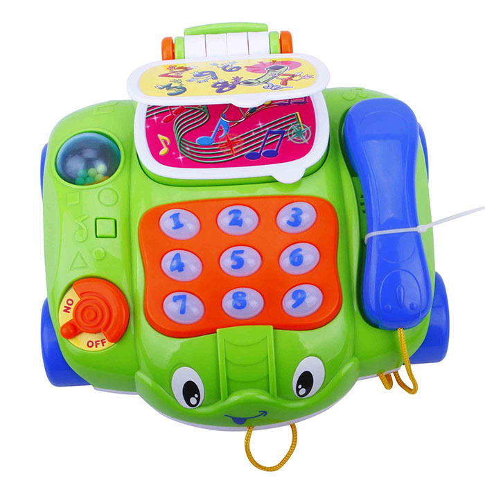 B/O Phone Car with Music Telephone Vehicle Toy for Kids