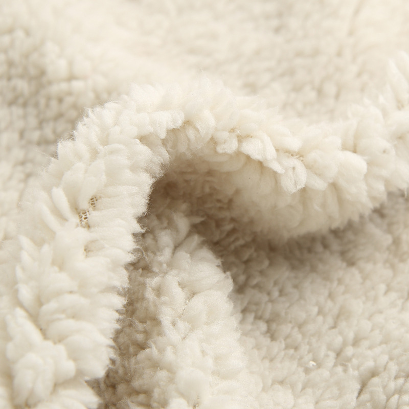 Brand Warm Polyester Microfiber Velsoft Coral Fleece Fabric