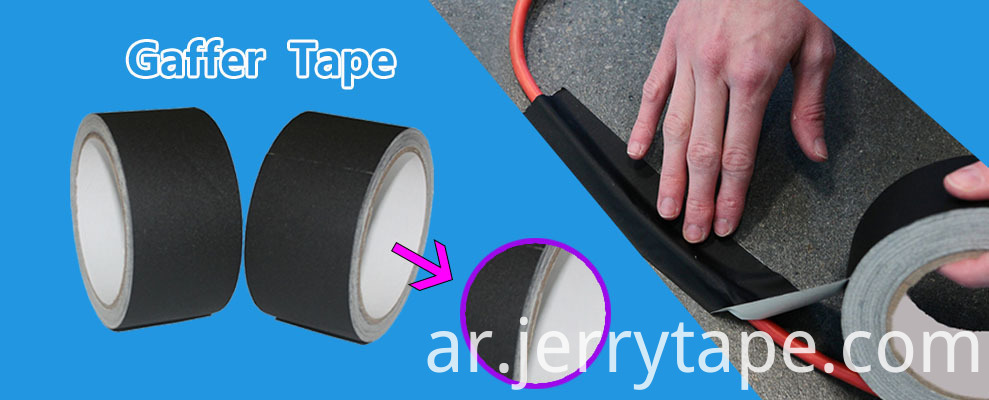 Non Reflective Black Gaffer Tape