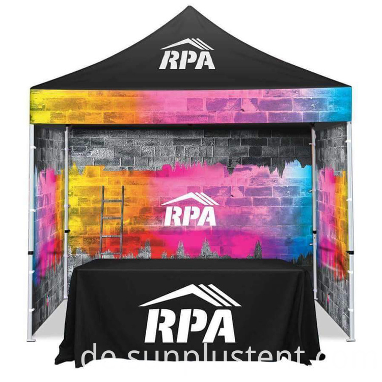 10x10 Tent with Logo