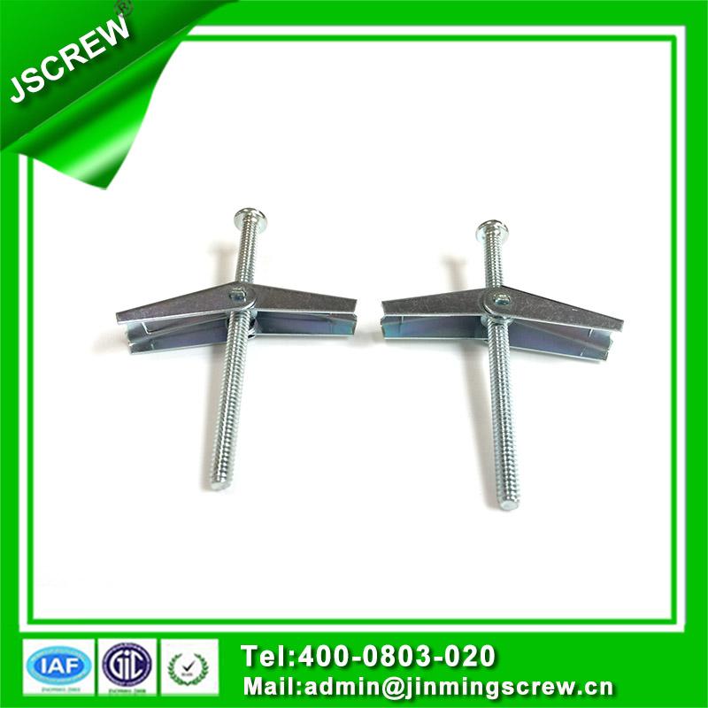Zinc Plated M8 Steel Pan Head Toggle Bolt