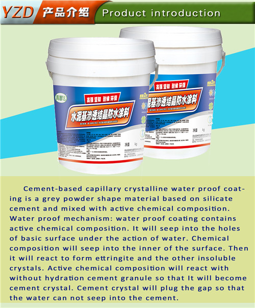 Coating Material, Construction Material, Cement Based Water Proof Coating
